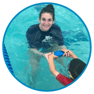Katerina Kyriopoulos Russell Aquatics Swim Instructor